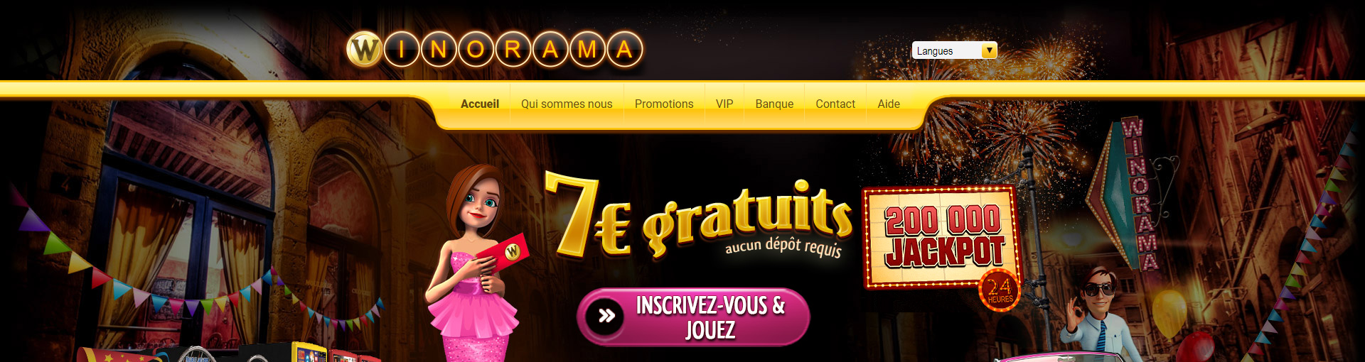 Winorama Casino Avis : banni par la rédaction